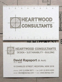 Ruler business card image collections business card template makeshift studio hese business cards for an architecture consultancy have a second life as a scale colourmoves